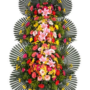 [인기상품]고급축하3단화환