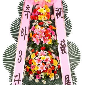 ★특가축하3단화환★