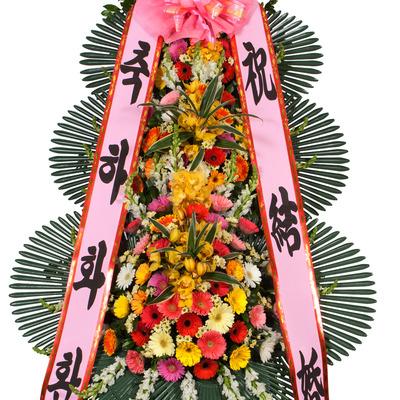 [기업화환인기]축하3단화환★