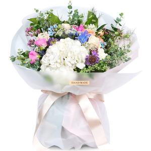 순수수국꽃다발